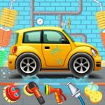 Kids Car Wash Service Auto Workshop Garage APK MOD Unlimited Money 1.8 for android