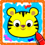 Animal Sounds for babies Coloring book for kids APK MOD Unlimited Money 1.20 for android