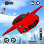Flying Car Shooting Games – Drive Modern Cars Game APK MOD Unlimited Money 1.7 for android