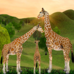 Giraffe Family Life Jungle Simulator APK MOD Unlimited Money 4.3 for android