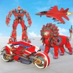 Lion Robot Transform War Light Bike Robot Games APK MOD Unlimited Money 1.7 for android