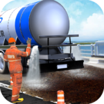 Mega City Road Construction Machine Operator Game APK MOD Unlimited Money 3.9 for android