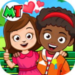 My Town Best Friends House games for kids APK MOD Unlimited Money 1.04 for android