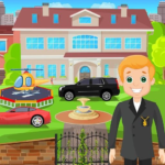 Pretend Play My Millionaire Family Villa Fun Game APK MOD Unlimited Money 1.0.3 for android