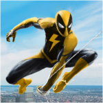Spider Rope Hero Crime City Battle APK MOD Unlimited Money 1.0.28 for android