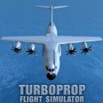 Turboprop Flight Simulator 3D APK MOD Unlimited Money 1.24 for android