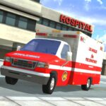 Ambulance Simulator – Car Driving Doctor APK MOD Unlimited Money 1.26 for android