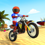 Beach Bike Stunts Crazy Stunts and Racing Game APK MOD Unlimited Money 5.1 for android