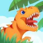 Dinosaur Island T-Rex Games for kids in jurassic APK MOD Unlimited Money 1.0.6 for android