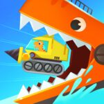 Dinosaur Ocean Explorer Games for kids Toddlers APK MOD Unlimited Money 1.0.3 for android