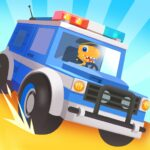 Dinosaur Police Car – Police Chase Games for Kids APK MOD Unlimited Money 1.1.3 for android