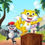 Honey Bunny Ka Jholmaal Games Rise Up Jump Run APK MOD Unlimited Money 1.0.3 for android