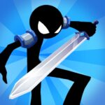 Idle Stickman Heroes Monster Age APK MOD Unlimited Money 1.0.11 for android