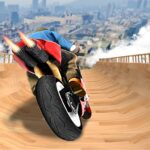 Impossible Mega Ramp Moto Bike Rider Stunts Racing APK MOD Unlimited Money 1.33 for android