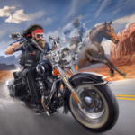 Outlaw Riders War of Bikers APK MOD Unlimited Money 0.2.1 for android
