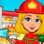 Pretend Play My Firestation Town Rescue Fireman APK MOD Unlimited Money 1.1.11 for android