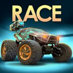 RACE Rocket Arena Car Extreme APK MOD Unlimited Money 1.0.21 for android