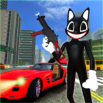 Scary Cartoon Cat Horror Game Gangster Cat Mod APK MOD Unlimited Money 1.3 for android