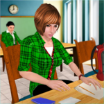 School Girl Simulator High School Life Games APK MOD Unlimited Money 1.10 for android