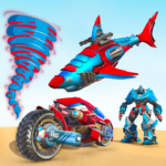 Shark Robot Car Game – Tornado Robot Bike Games 3d APK MOD Unlimited Money 1.0.9 for android