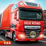 Silk Road Truck Simulator Offroad Cargo Truck APK MOD Unlimited Money 2.3.4 for android