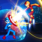 Stickman Fighter Infinity – Super Action Heroes APK MOD Unlimited Money 1.0.5 for android