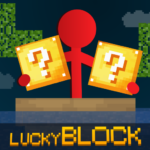 Stickman vs Multicraft Lucky Block APK MOD Unlimited Money 1.0.6 for android