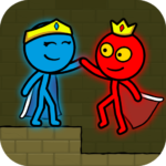 Red and Blue Stickman Animation Parkour APK MOD Unlimited Money 1.0.6 for android