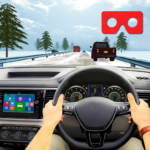 VR Traffic Racing In Car Driving Virtual Games APK MOD Unlimited Money 1.0.24 for android