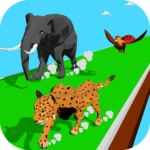 Animal Transform Race – Epic Race 3D APK MOD Unlimited Money 0.6 for android