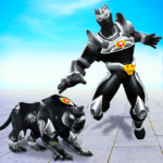 Flying Panther Robot Hero GameCity Rescue Mission APK MOD Unlimited Money for android