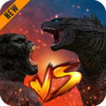 Godzilla Kong 2021 Angry Monster Fighting Games APK MOD Unlimited Money 2 for android