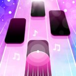 Magic Pink Tiles Piano Game APK MOD Unlimited Money 1.0.0 for android