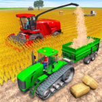 Modern Tractor Farming Simulator Offline Games APK MOD Unlimited Money 1.34 for android