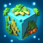 Planet of Cubes Craft Survival APK MOD Unlimited Money for android