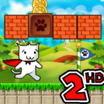Super Cat World 2 HD – Syobon Action APK MOD Unlimited Money for android