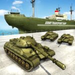 US Army Transport Tank Cruise Ship Helicopter Game APK MOD Unlimited Money for android