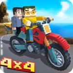 Blocky Moto Bike SIM Winter Breeze APK MOD Unlimited Money for android