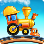 Building and Train Games for Kids Kindergarten APK (MOD, Unlimited Money)  for android 1.0.17