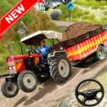 Cargo Tractor Trolley Simulator Farming Game 2 APK MOD Unlimited Money for android