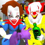 Clown Brothers. Neighbor Escape 3D APK MOD Unlimited Money for android