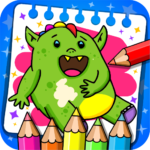 Fantasy – Coloring Book Games for Kids APK MOD Unlimited Money for android