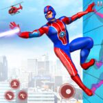 Flying Robot Superhero Rescue City Survival Games APK MOD Unlimited Money for android