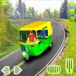 Modern auto tuk tuk Real rickshaw game 2021 APK MOD Unlimited Money for android