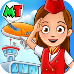 My Town Airport Free APK MOD Unlimited Money for android