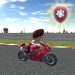 Paw Ryder Moto Patrol Race 3D APK MOD Unlimited Money for android