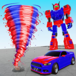 Air Robot Tornado Transforming – Robot Games APK (MOD, Unlimited Money)  for android 1.0.13