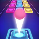 Beat Ball Dancing Color Hop APK MOD Unlimited Money for android
