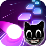 Cartoon cat – Hop round tiles edm rush APK MOD Unlimited Money for android