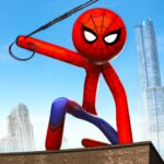Rope Hero 2021 Stickman Rope Hero City Crime APK MOD Unlimited Money for android